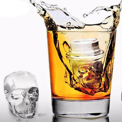 Skull Ice Cube Mold (Set)
