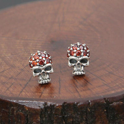 Fashion Skull Stud Earrings