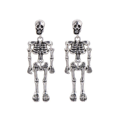 Skeleton Stud Earrings