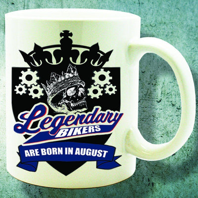 Bikers Born in August Mug