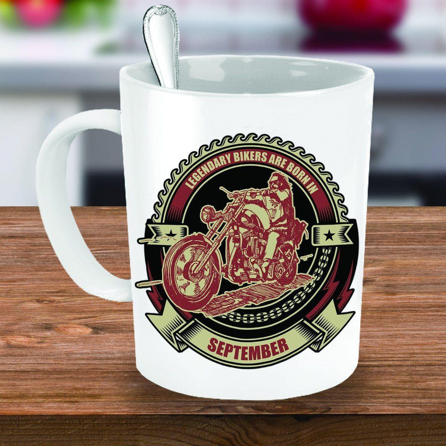 Bikers Born in September Mug