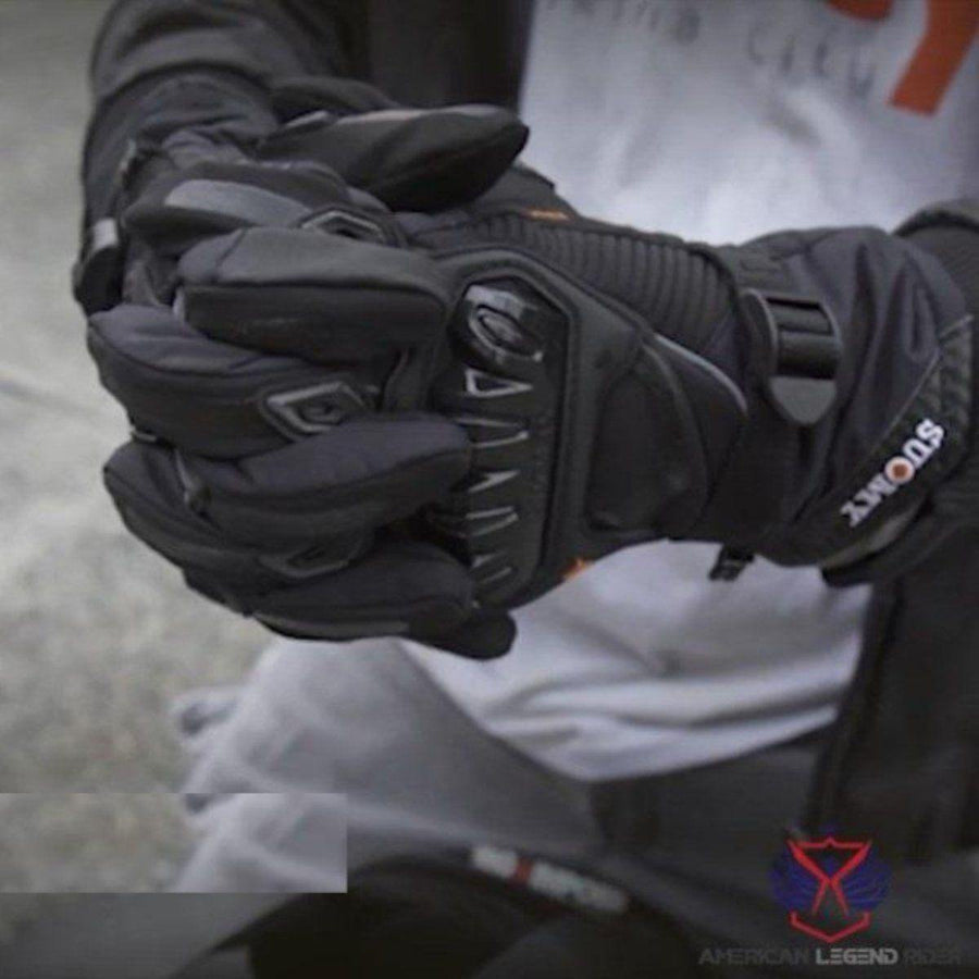 Alr™ Waterproof Biker Gloves - American Legend Rider