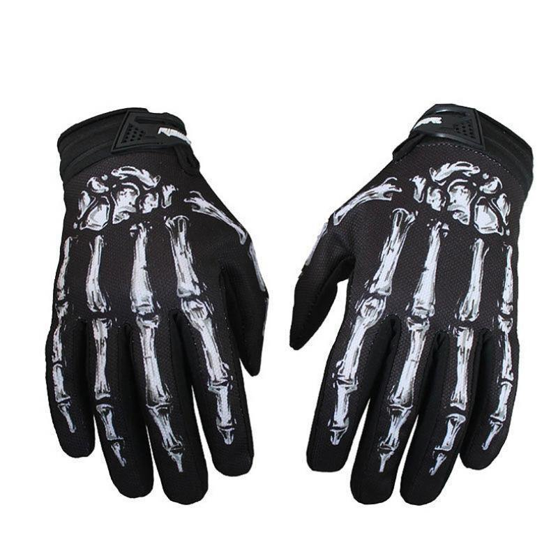 Goth Zombie Hands Anti-Slip Racing Gloves