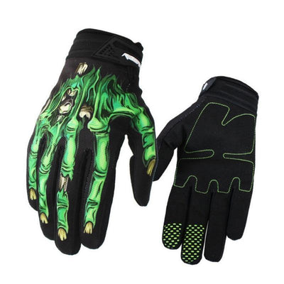 Goth Racing Gloves