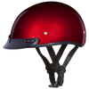 Daytona D.O.T Red Metallic Cap Helmet