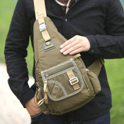 Premium Nylon Crossbody Bag