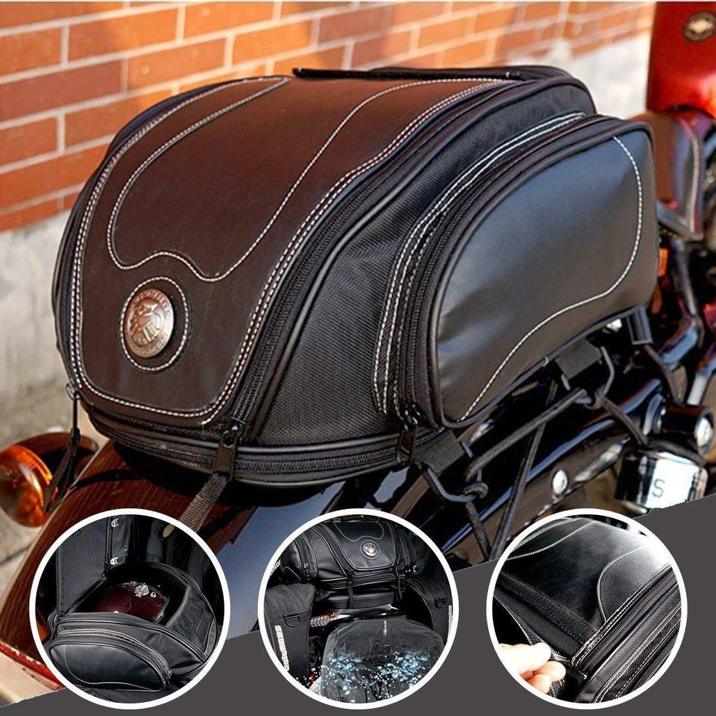 Motorcycle Retro Tail Bag