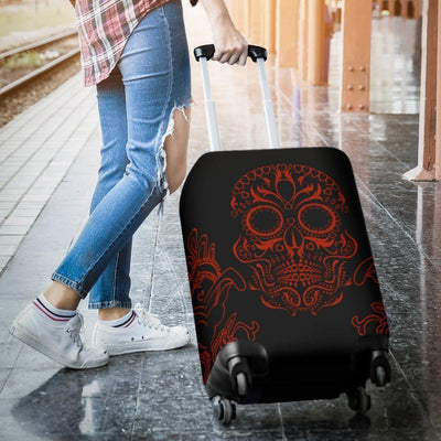 Bloody Skull Luggage Cover