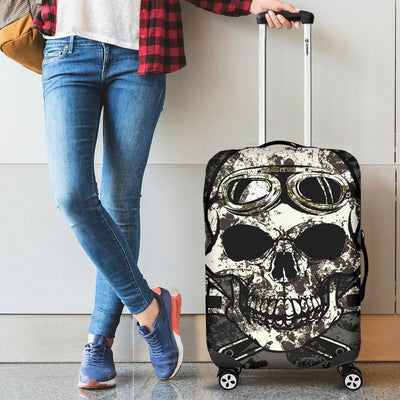 Dirty Skull Luggage Cover