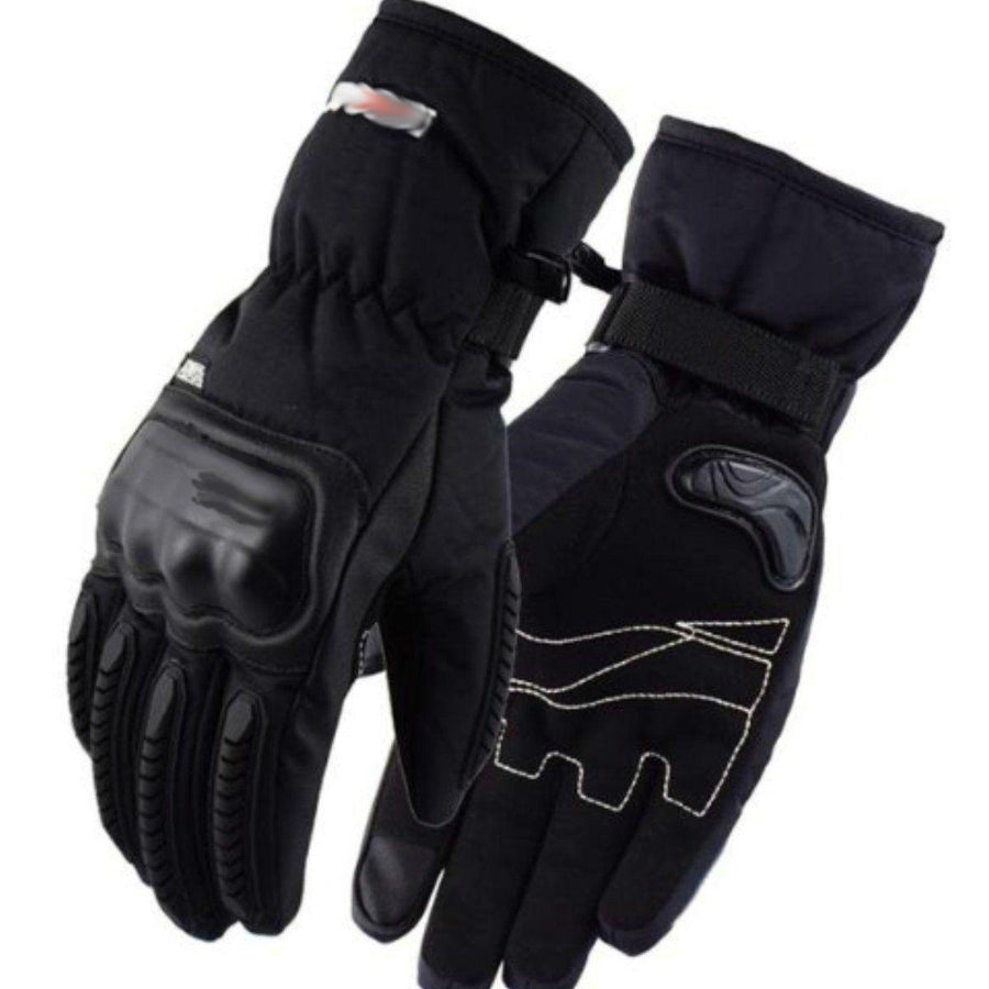 Bikers Winter Waterproof Gloves Lined w/ Cotton