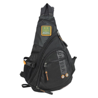 Biker Sling Backpack Single Strap Rucksack, Waterproof Oxford