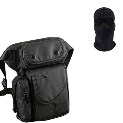 High Quality Multi-Function Leg Bag + Free Full Face Mask - American Legend Rider