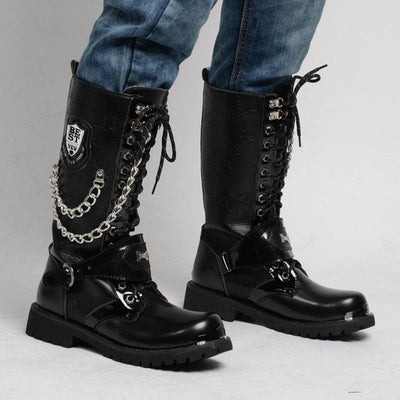 Killer Punk Boots For Bikers
