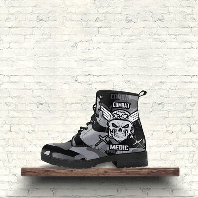 Badass Combat Boots For Bikers