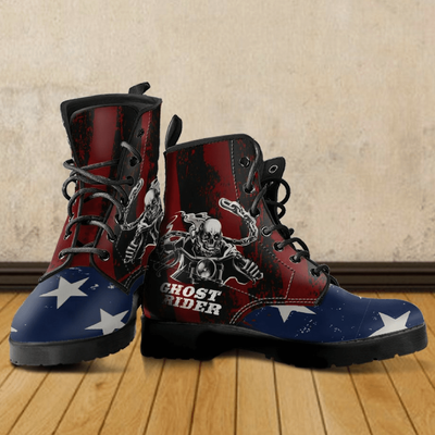Cool Ghost Rider Boots