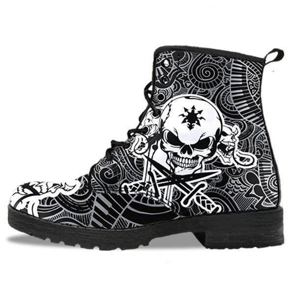 Gothic Leather Boots