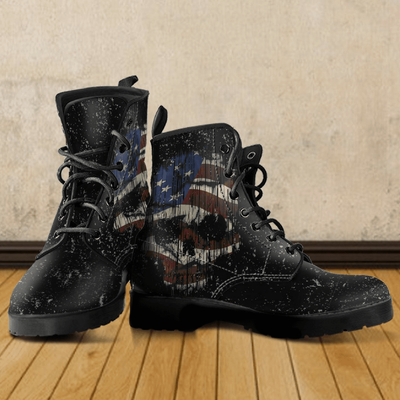 Shredded Skull Boots