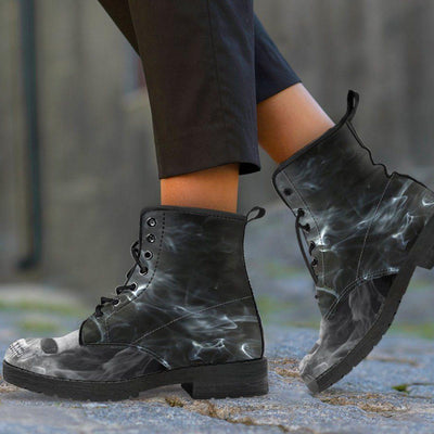 Smoked Skull Boots