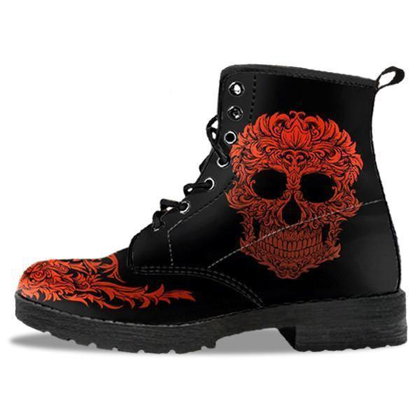Bloody Skull Boots