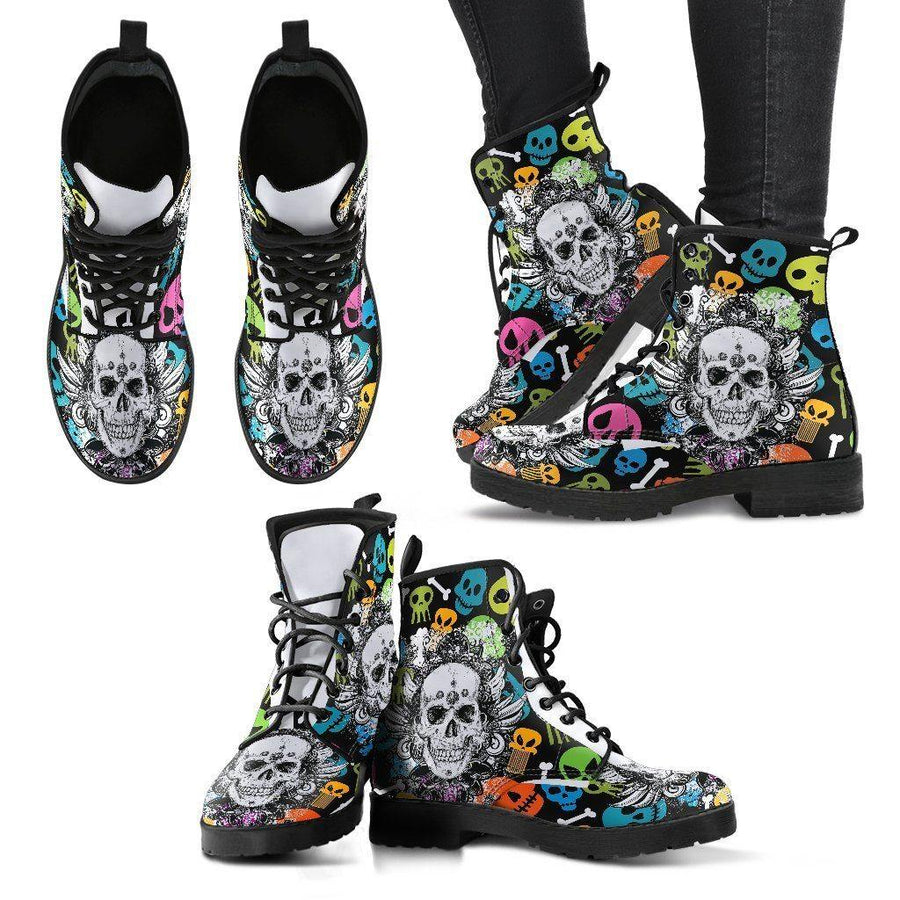 Colorful Punk Boots