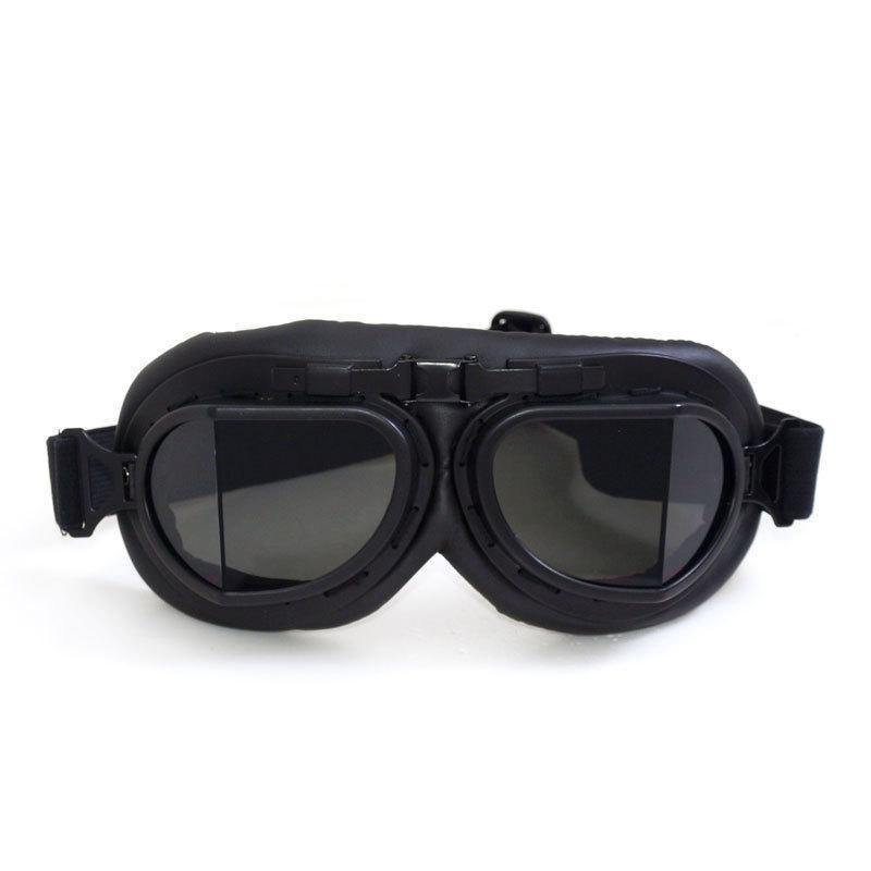 Retro Biker UV400 Goggles w/ Adjustable Elastic Straps