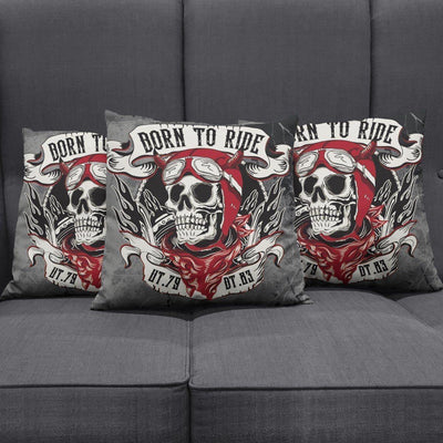 Born to Ride Pillow Cover