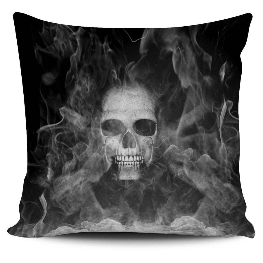 Smoked Skulls Pillow Cover - American Legend Rider