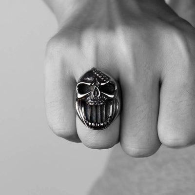 Skull Ring Bottle Opener