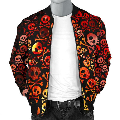 Cool Goth Bomber Jacket