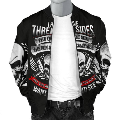 Three Sides Bomber Jacket
