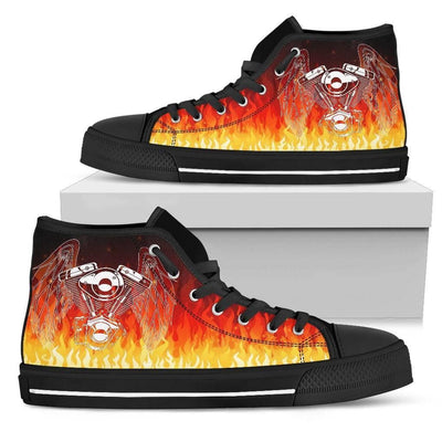 Fire Piston High Top Shoes