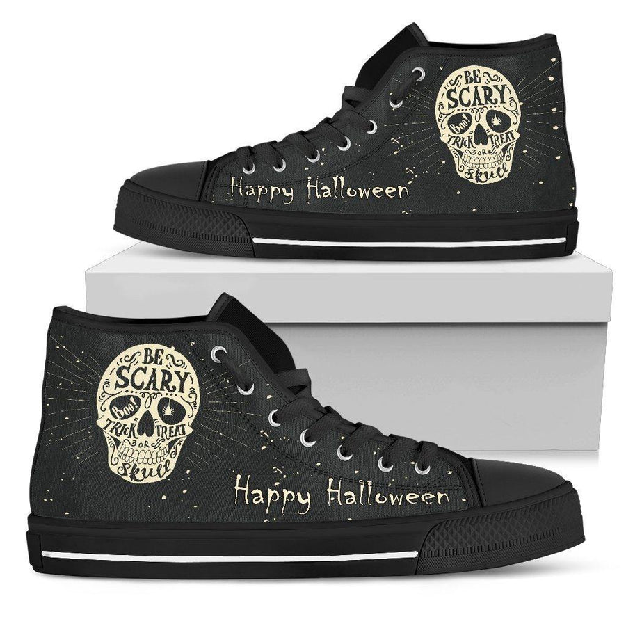 Happy Halloween High Top Shoes - American Legend Rider