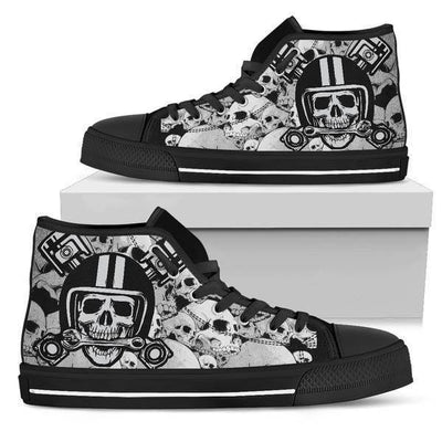 Gothic High Top Shoes