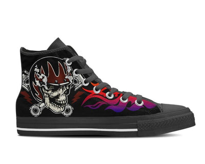 Punk Canvas High Top Shoes