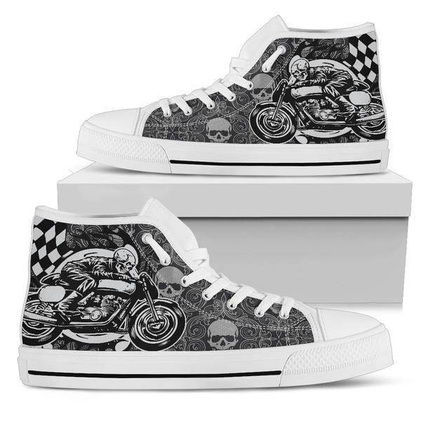 Men's Skull Rider High Top Shoes