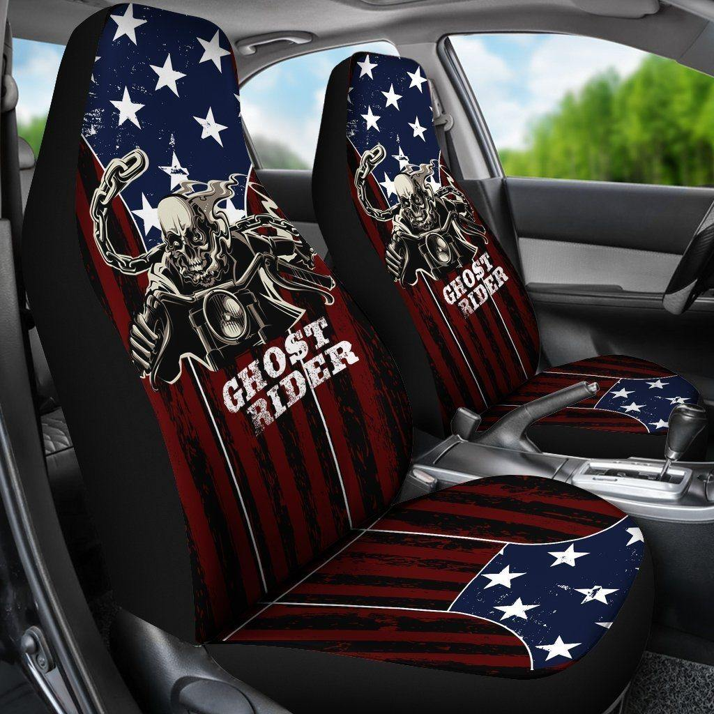 Ghost Rider Car Seat Cover - American Legend Rider