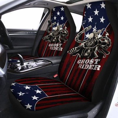 Ghost Rider Car Seat Cover