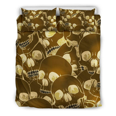Seeking Skull Bedding Set