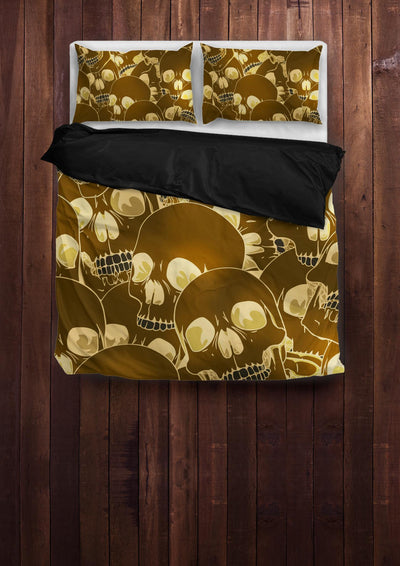 Seeking Skull Bedding Set - American Legend Rider