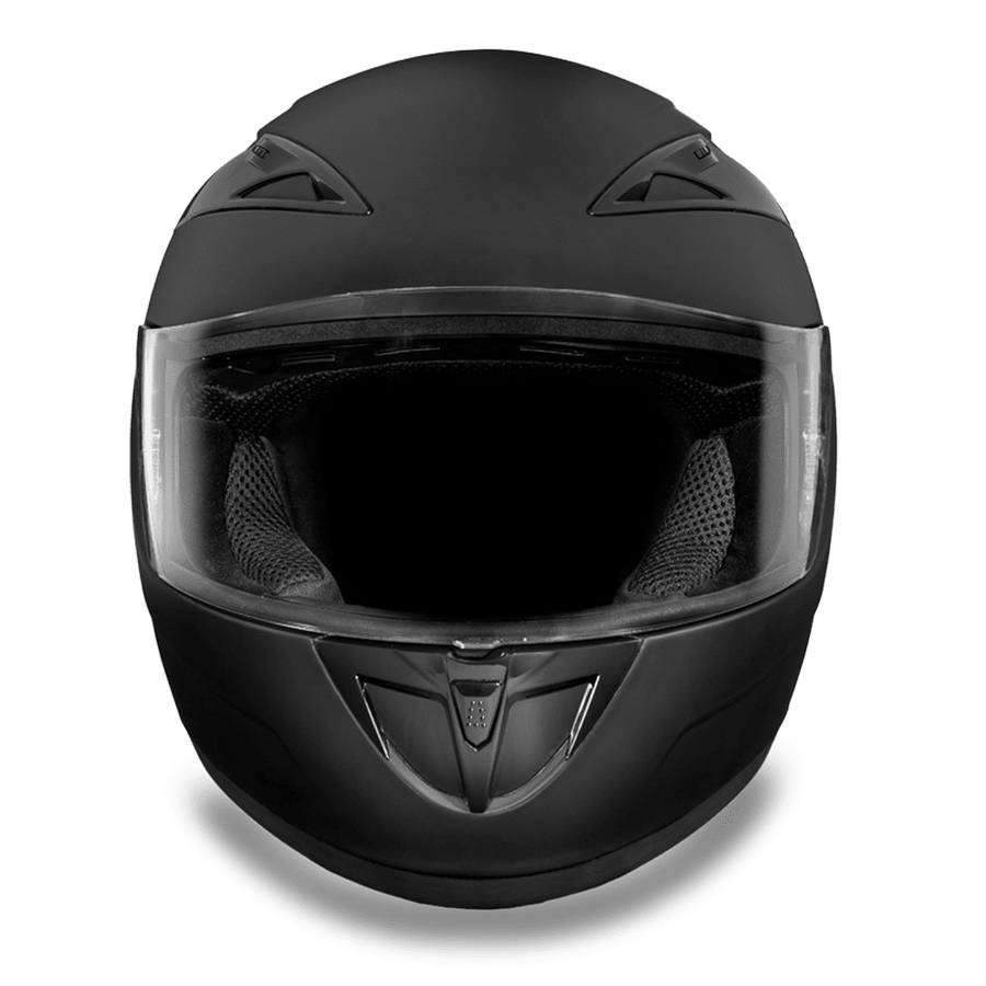 Daytona D.O.T Shadow Dull Black Helmet - American Legend Rider