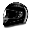 D.O.T Shadow Glossy Black Helmet
