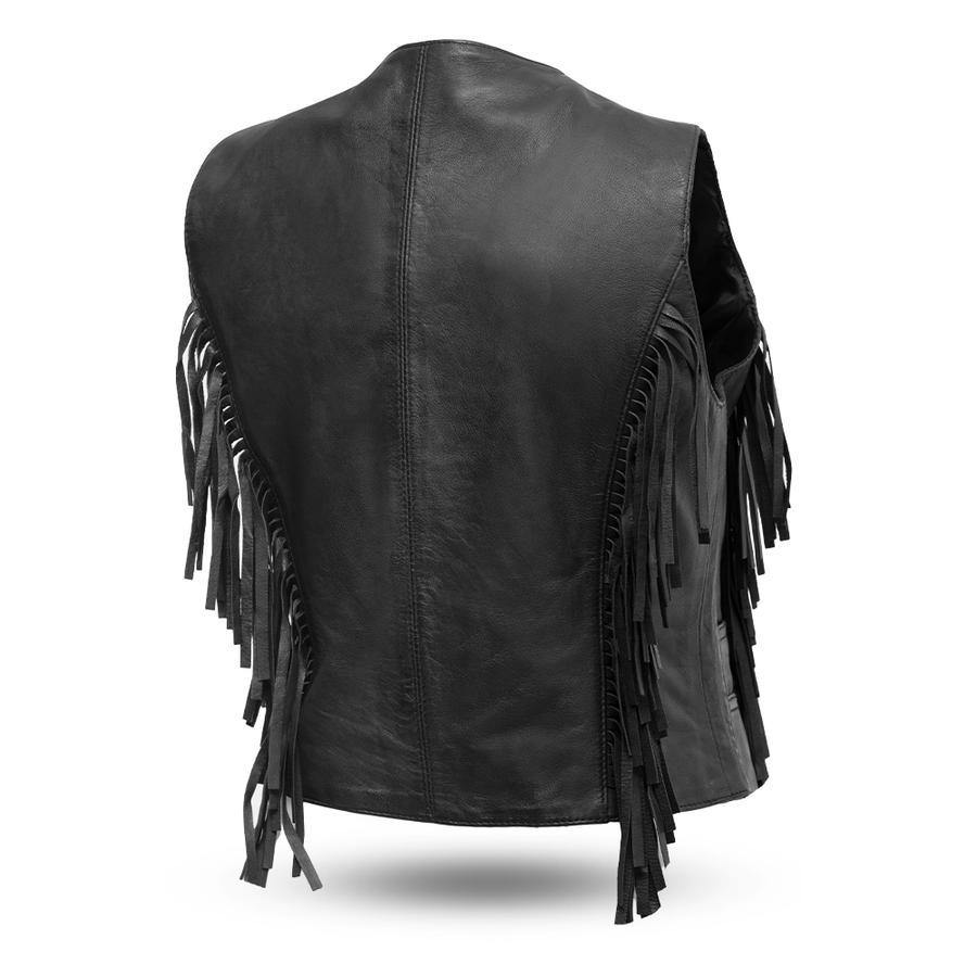 First Manufacturing Apache Fringe Vest