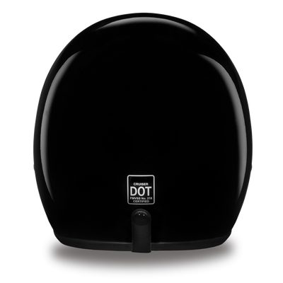 D.o.t Cruiser Hi-Gloss Black Helmet