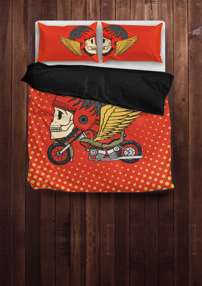 Funky Motorcycle Bedding Sets