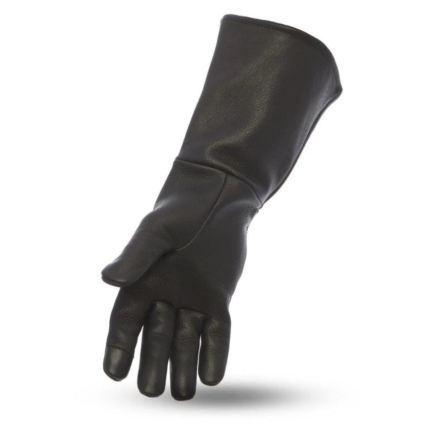 First Manufacturing Gauntlet Leather Gloves - American Legend Rider