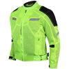 Vance Leather High Visibility Mesh Motorcycle Jacket with Insulated Liner and CE Armor