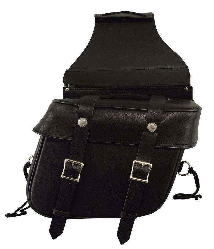 First Manufacturing Motorcycle Saddle Bag - American Legend Rider