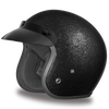 D.O.T. Cruiser Black Metal Flake Helmet