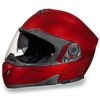 D.O.T. Glide Black Cherry Metallic Helmet
