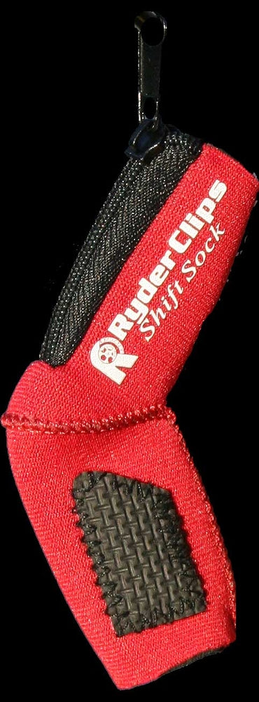 Daniel Smart Red Neoprene Shift Sock Shoe Boot Protector